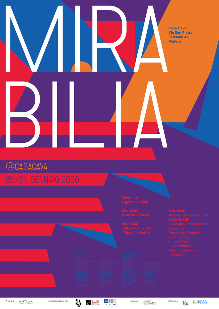 Mirabilia Art exhibition Italy